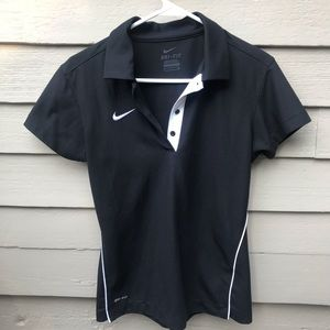 Nike Button Down Short Sleeved Top